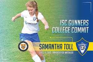 Class of 2018 - Samantha Toll - Universi