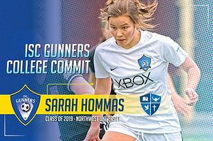 Class of 2019 - Sarah Hommas - Northwest