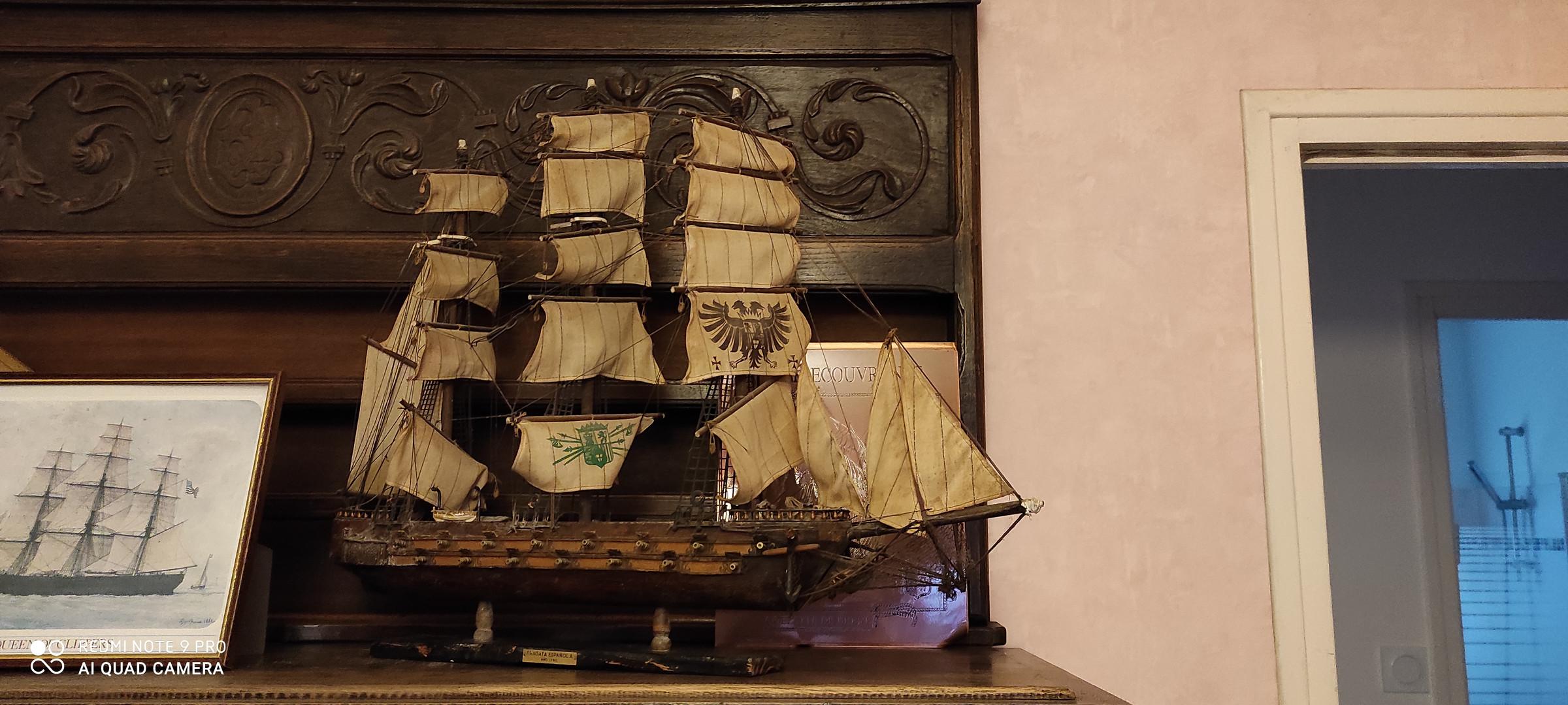 Flotte de guerre Espagnole 1760