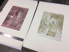 Madonna etchings