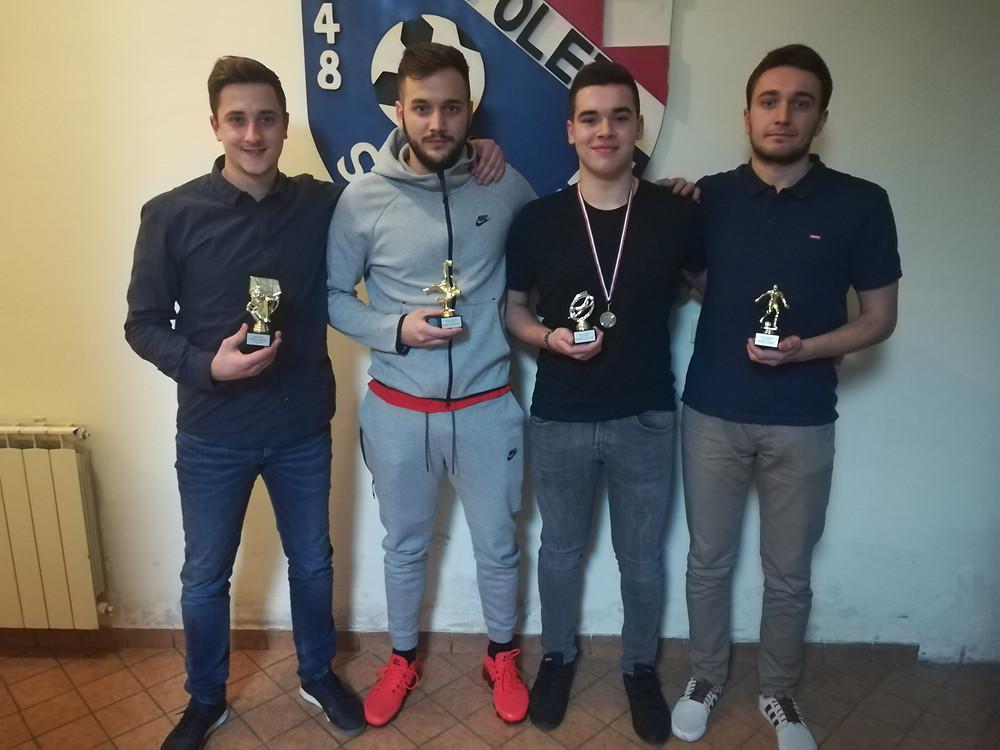 Matej Vuković, Blaž Jerković, Braian Perin, Anto Ilak