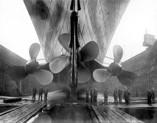 VICTORIA AND ALBERT MUSEUM |  'OCEAN LINERS: SPEED AND STYLE'.