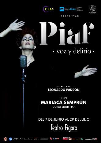 TEATRO FÍGARO | 'PIAF, VOZ Y DELIRIO'.
