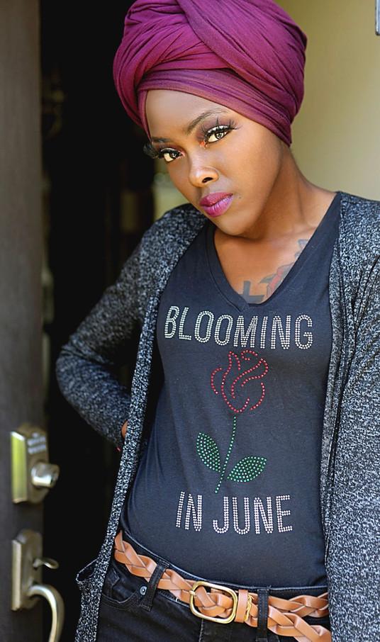 Blooming in June