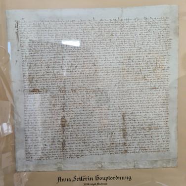 Stiftungsurkunde (Original), Insel.jpg