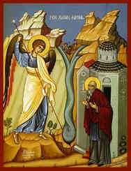 ARCHANGEL MICHAEL AND SAINT ARCHIPPOS, THE MIRACLE AT COLOSSAE (CHONAE)