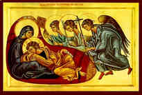 CHRIST ANAPESON: RECLINING INFANT JESUS