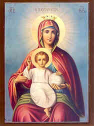 VIRGIN AND CHILD, QUEEN OF THE UNIVERSE