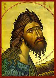 SAINT JOHN THE FORERUNNER, BUST