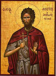 SAINT ALEXIUS, THE MAN OF GOD, IN ROME