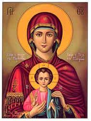 VIRGIN AND CHILD, EPAKOUOUSA