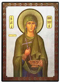 SAINT PARASCEVE, THE GREAT MARTYR, OF ROME