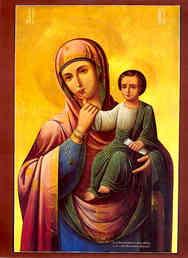 VIRGIN AND CHILD, PARAMYTHIA