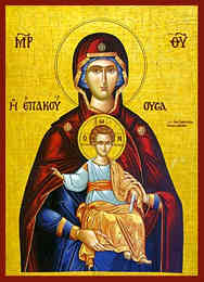 VIRGIN AND CHILD, EPAKOUOUSA