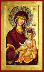 VIRGIN AND CHILD, HODEGETRIA