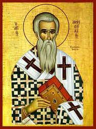 SAINT AMPHILOCHIUS, BISHOP OF ICONIUM