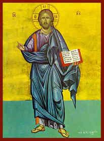 CHRIST BLESSING, FULL BODY