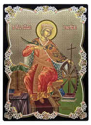 SAINT CATHERINE THE GREAT MARTYR, OF ALEXANDRIA, ENTHRONED