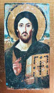CHRIST BLESSING, PANTOCRATOR OF SINAI