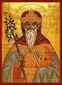 HOLY PROPHET AAROΝ, THE HIGH PRIEST