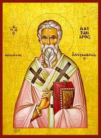 SAINT ALEXANDER, PATRIARCH OF ALEXANDRIA