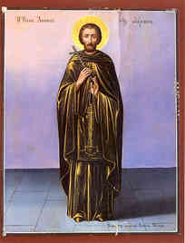 SAINT ACACIUS OF SINAI, WHO IS MENTIONED IN THE LADDER, FULL BODY