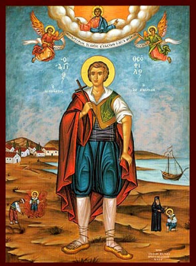 ΑΓΙΟΣ ΘΕΟΦΙΛΟΣ Ο ΝΕΟΜΑΡΤΥΣ, ΖΑΚΥΝΘΟΥ, ΟΛΟΣΩΜΟΣ