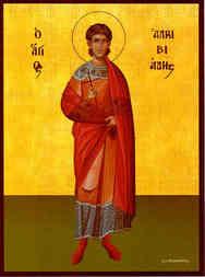 SAINT ALKIBIADES, MARTYR, FULL BODY