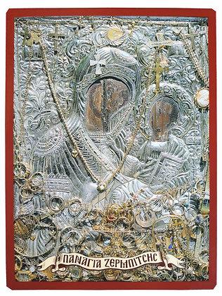 ΠΑΝΑΓΙΑ ΜΕ ΧΡΙΣΤΟ, Η ΚΥΡΙΑ ΘΕΟΤΟΚΟΣ ΤΗΣ ΖΕΡΜΠΙΤΣΗΣ, ΛΑΚΩΝΙΑ (ΚΕΙΜΗΛΙΑΚΗ)