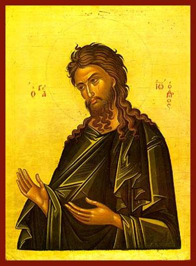 ΑΓΙΟΣ ΙΩΑΝΝΗΣ Ο ΠΡΟΔΡΟΜΟΣ, ΔΕΟΜΕΝΟΣ