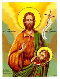 SAINT JOHN THE FORERUNNER