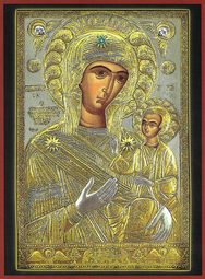 VIRGIN AND CHILD, HODEGETRIA, OF PROUSA, GREECE