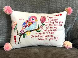 12 x 16 pillow (sold)