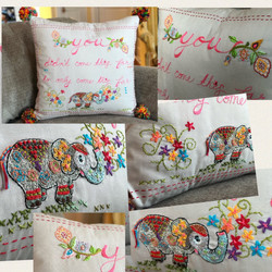 commissioned pillow-sold