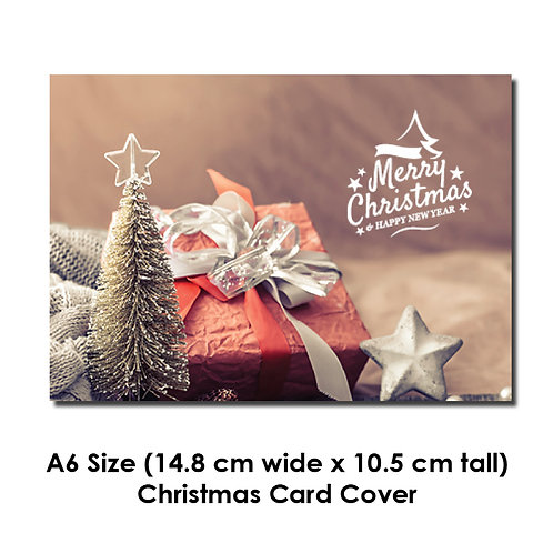 DIY Printing - A6 Christmas Card Artwork (A6 Size folded, Inkjet borderless)