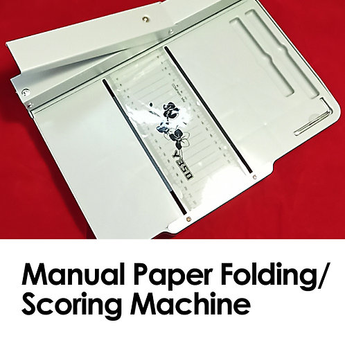 Manual Paper Scoring / Folding Machine, 35 cmwide