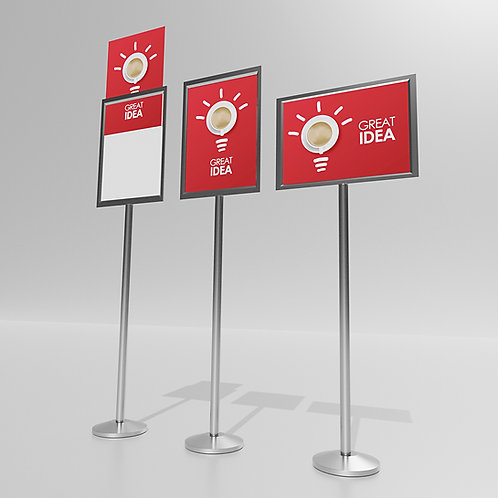 A4 Portrait Sign Stand