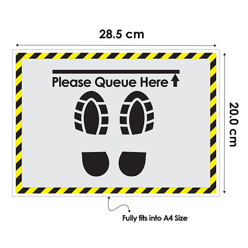 DIY Printing- Queue Box Artwork (28.5 cm Wide x  20.0 cm Tall)