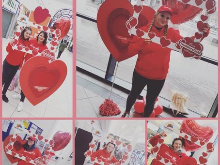 Love is in the air in Huddersfield!