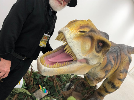 A special visitor joins us on our latest Jurassic Adventure!