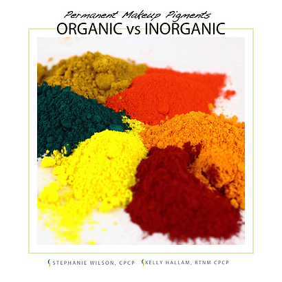 Are Your Permanent Makeup Pigments Organic? | Halcyon Cosmetic