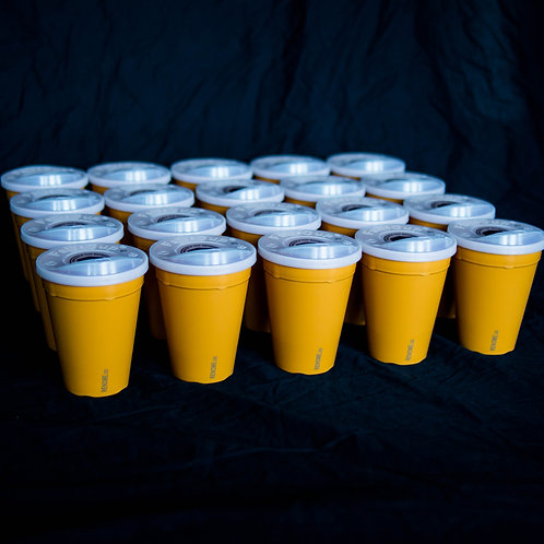 Renome reusable cup network 20 pack cups and lids