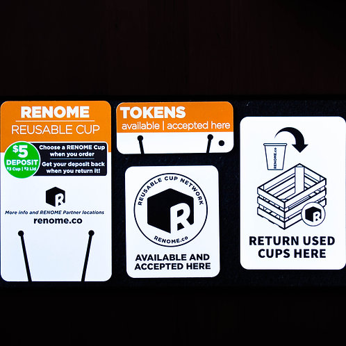 RENOME Point Of Sale replacement kit