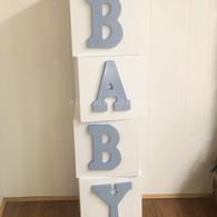 """BABY blocks 12""""x4'"""