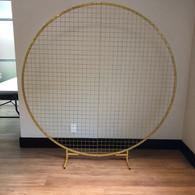 Gold Mesh 6ft diameter