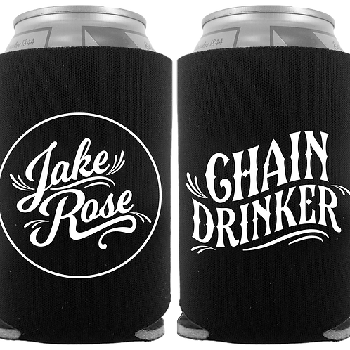 Chain Drinker Koozie (Black)