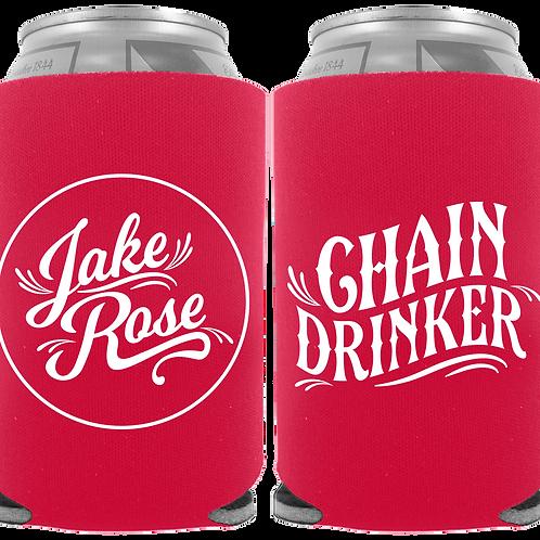 Chain Drinker Koozie (Red)