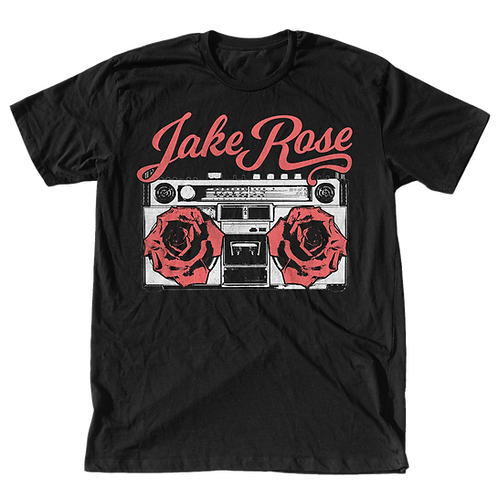 Jake Rose Boombox T-Shirt (black)