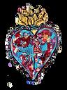 Heart Painting by MonicaZanetti