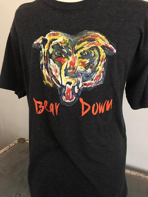 Bear Down Men's tri-blend tee